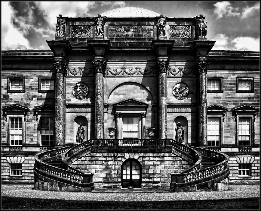 photoblog image Kedleston Hall South Front