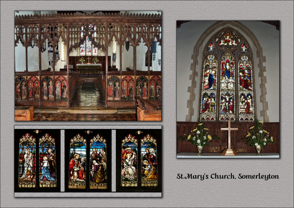 photoblog image Somerleyton Church 5/5