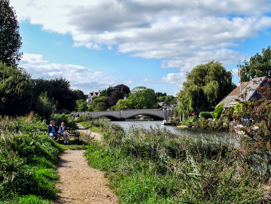 photoblog image Wareham - The River Frome 7/7