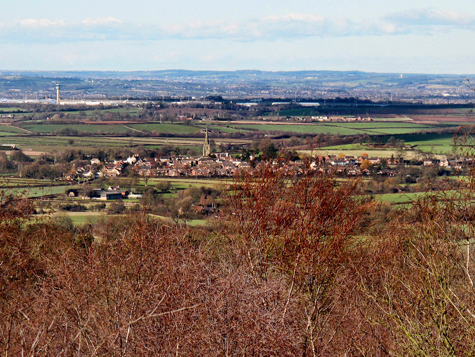 photoblog image Belton From High Cademan Woods