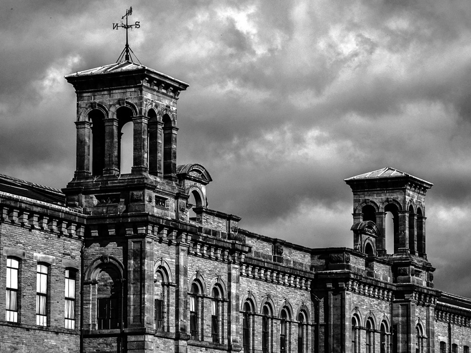 photoblog image Saltaire Mill Re-visited