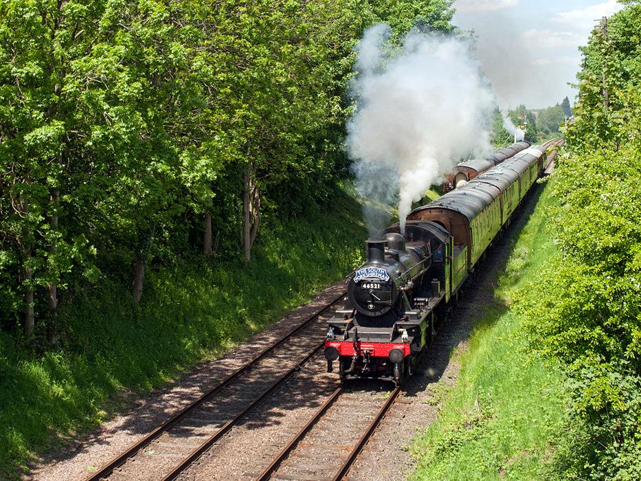photoblog image Passing Trains