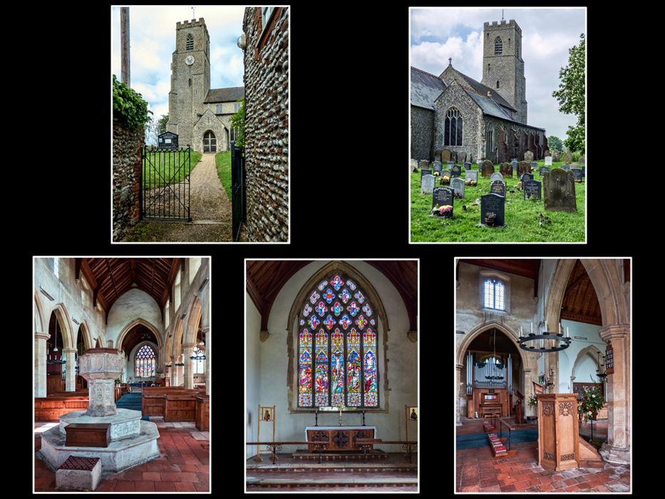 photoblog image Hindringham Church 2/2