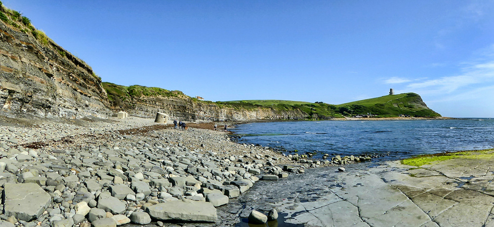 photoblog image Kimmeridge Panorama 1/2