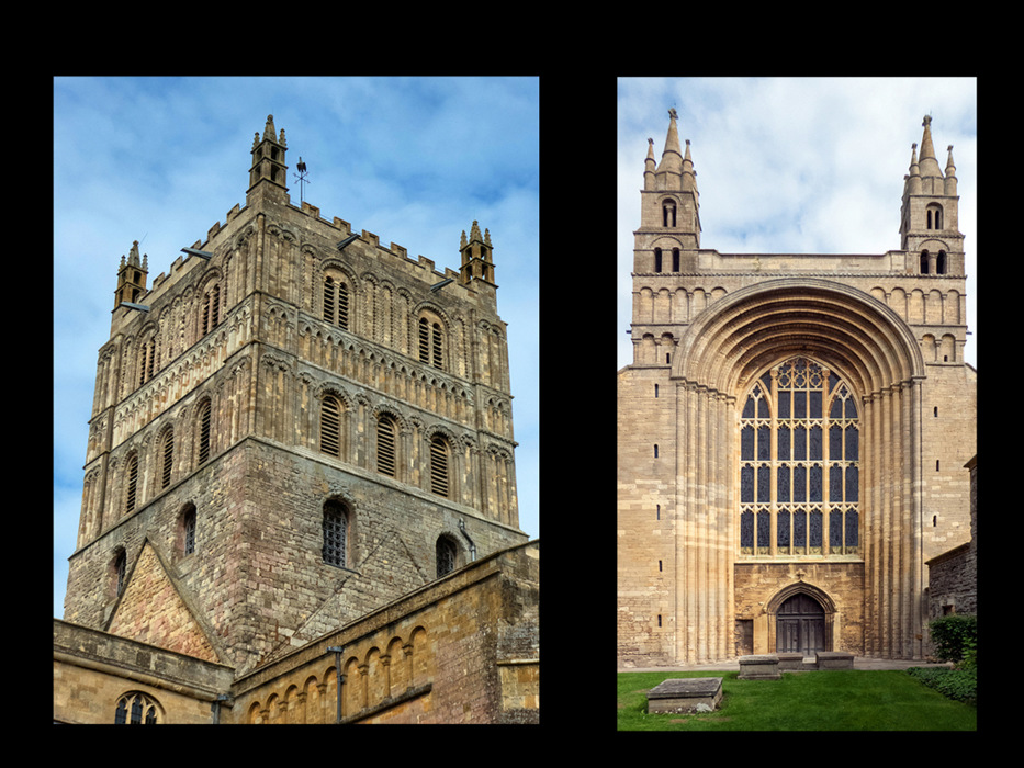 photoblog image Tewkesbury Abbey - Part 1 - Outside - 2/5